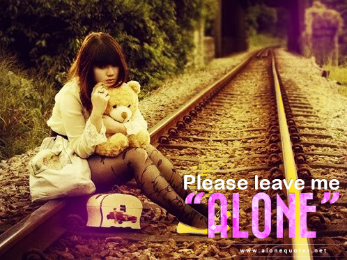cute alone girl in rail way wallpapers