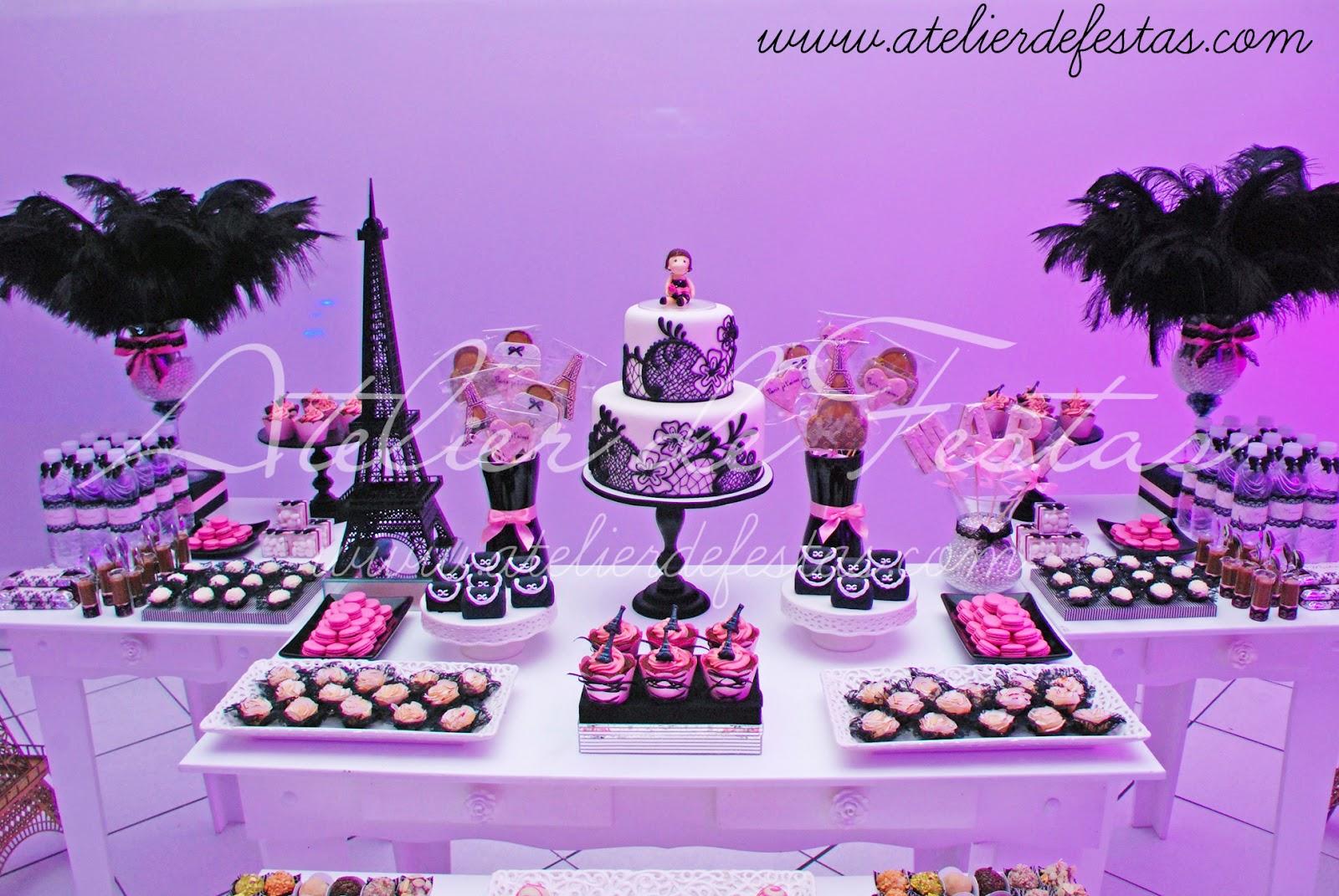 Amado Atelier de Festas: Festa Paris WD53