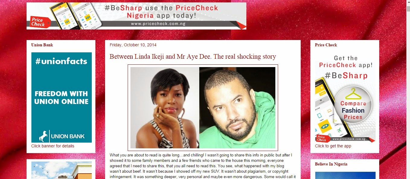 Finally !! Linda Ikeji's Blog Has Been Restored Back By Google