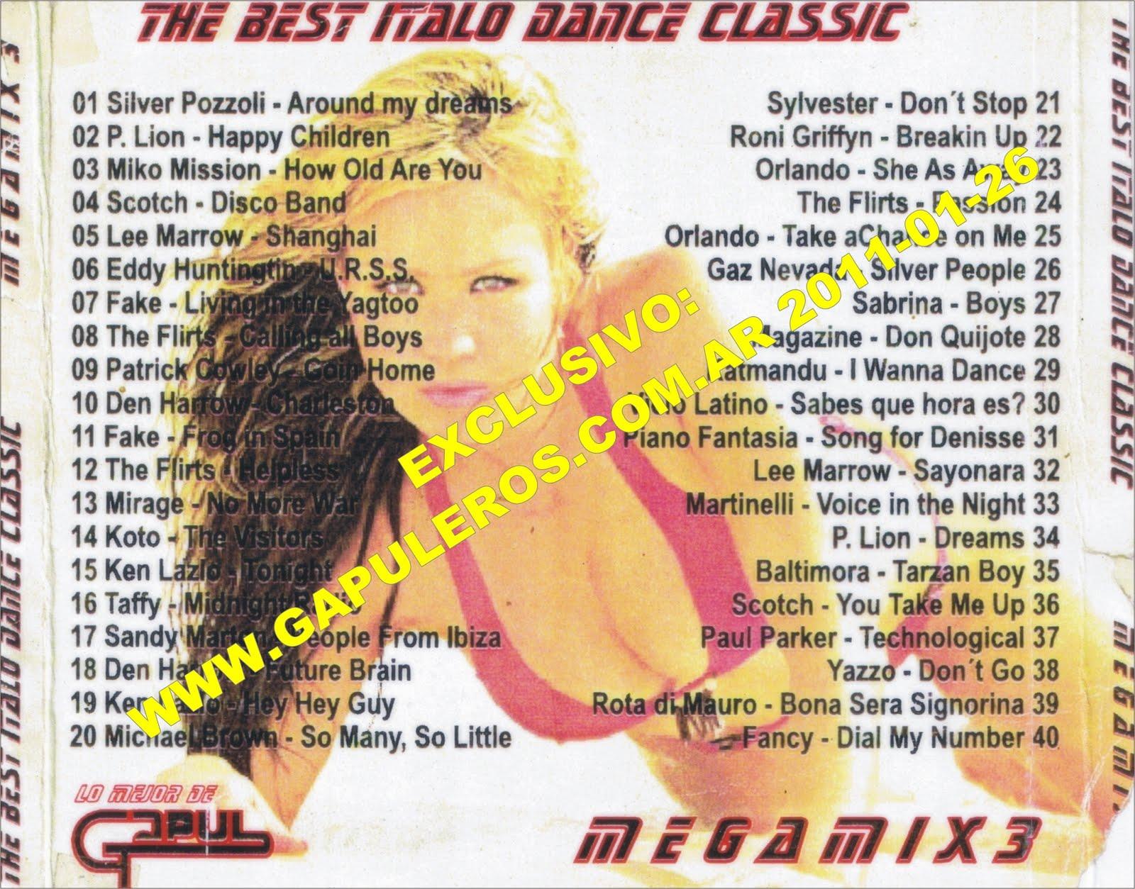 Lo Mejor De Gapul 40 Temas In The Mix Vol 3 (Version CD)