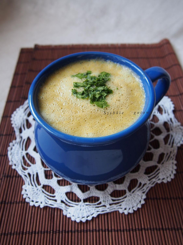 Zupa krem z warzyw bez gotowania z blendera w kilka minut