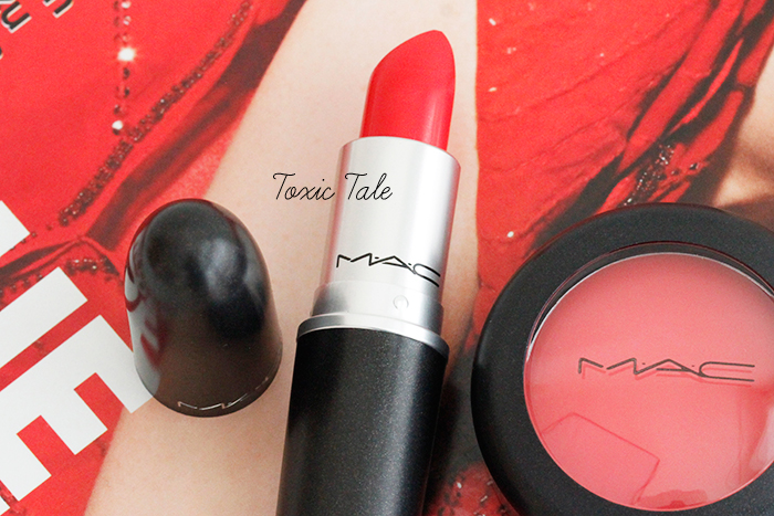 MAC Red, Red, Red Lipstick Toxic Tale