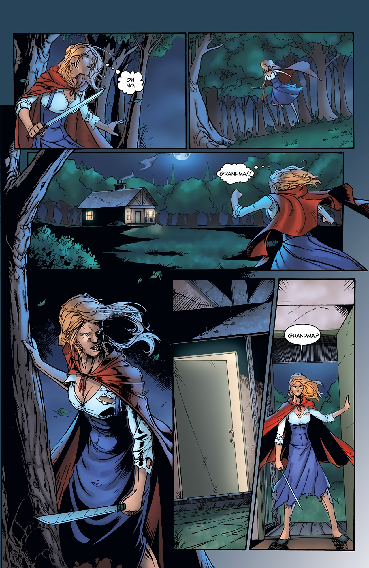 Grimm Fairy Tales (2005) Issue #1 #4 - English 16