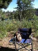 camping stitching station
