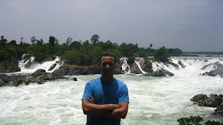 Cascada principal de 4.000 islas (Si Pha Don, Laos)