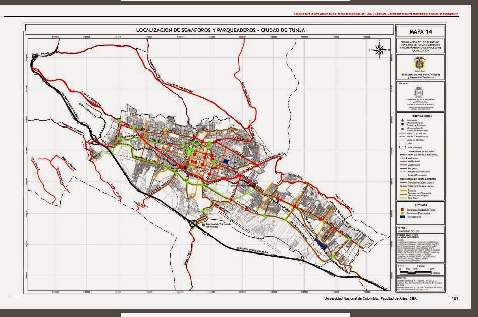 El Debate Boyacense Terminal De Tunja Realidad O Conflicto Politico - Tunja map