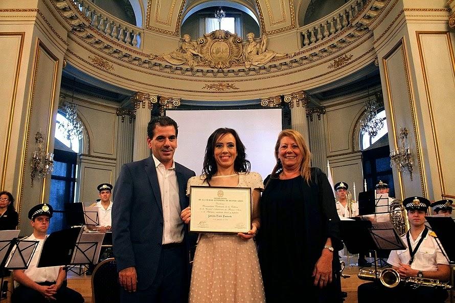Cristian Ritondo, Gabriela Pochinki y Raquel Herrero
