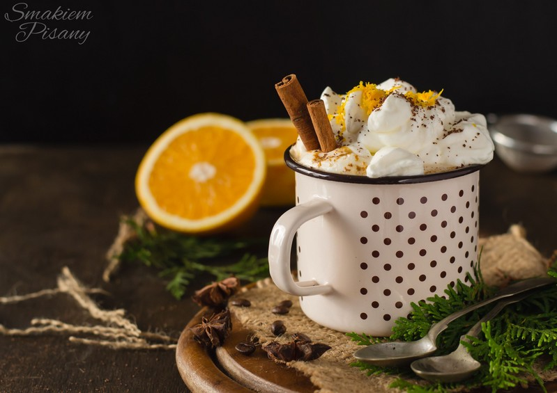 orange spiced coffee