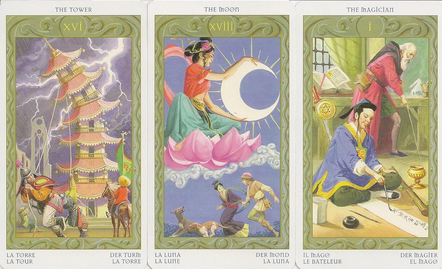 Eno\'s Tarots: Tarot of the Journey to the Orient (Marco Polo Tarot)