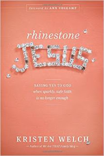 http://www.amazon.com/Rhinestone-Jesus-Saying-Sparkly-Longer/dp/1414389426
