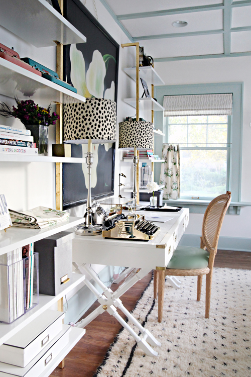 Iheart organizing a storied style home office guest for Chic office ideas