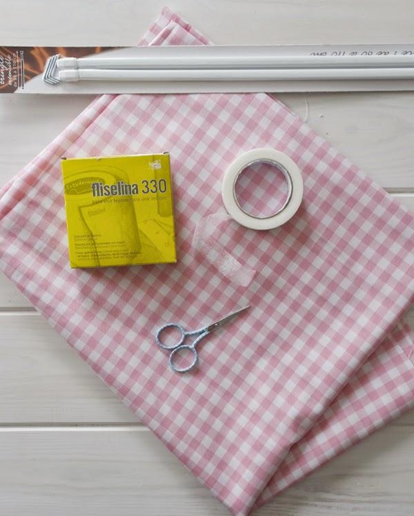 Lalole blog como hacer unas cortinas sin saber coser - Como colgar unas cortinas ...
