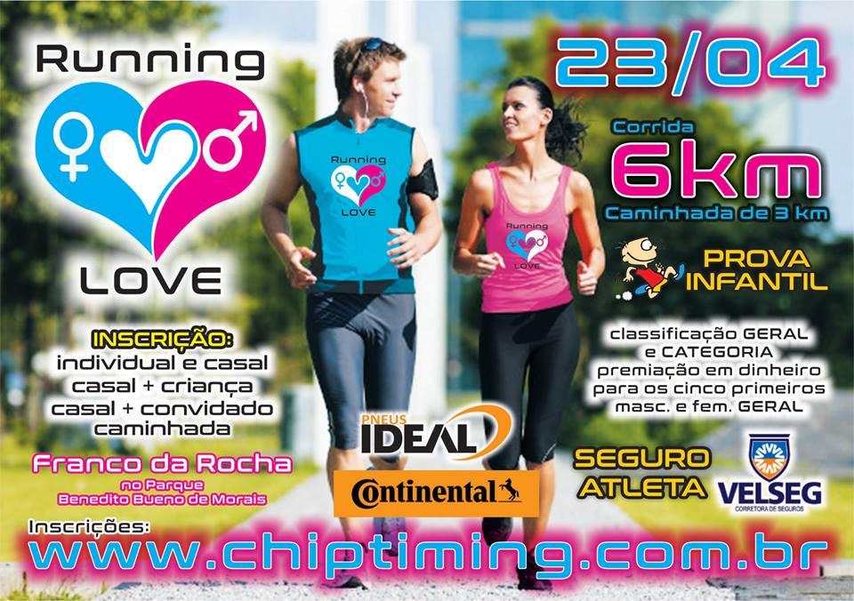 Inscreva-se para a Running Love