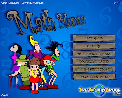 Math Mountain,Matemáticas,cálculo, cálculo mental,juego
