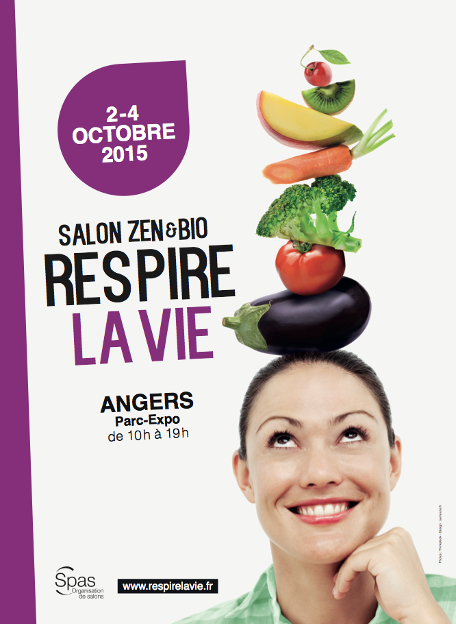 Save the date : Salon Zen Respire la Vie à Angers