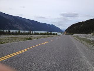 on the way to Watson Lake YT