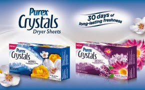 http://www.purex.com/products/softeners/crystals-dryer-sheets
