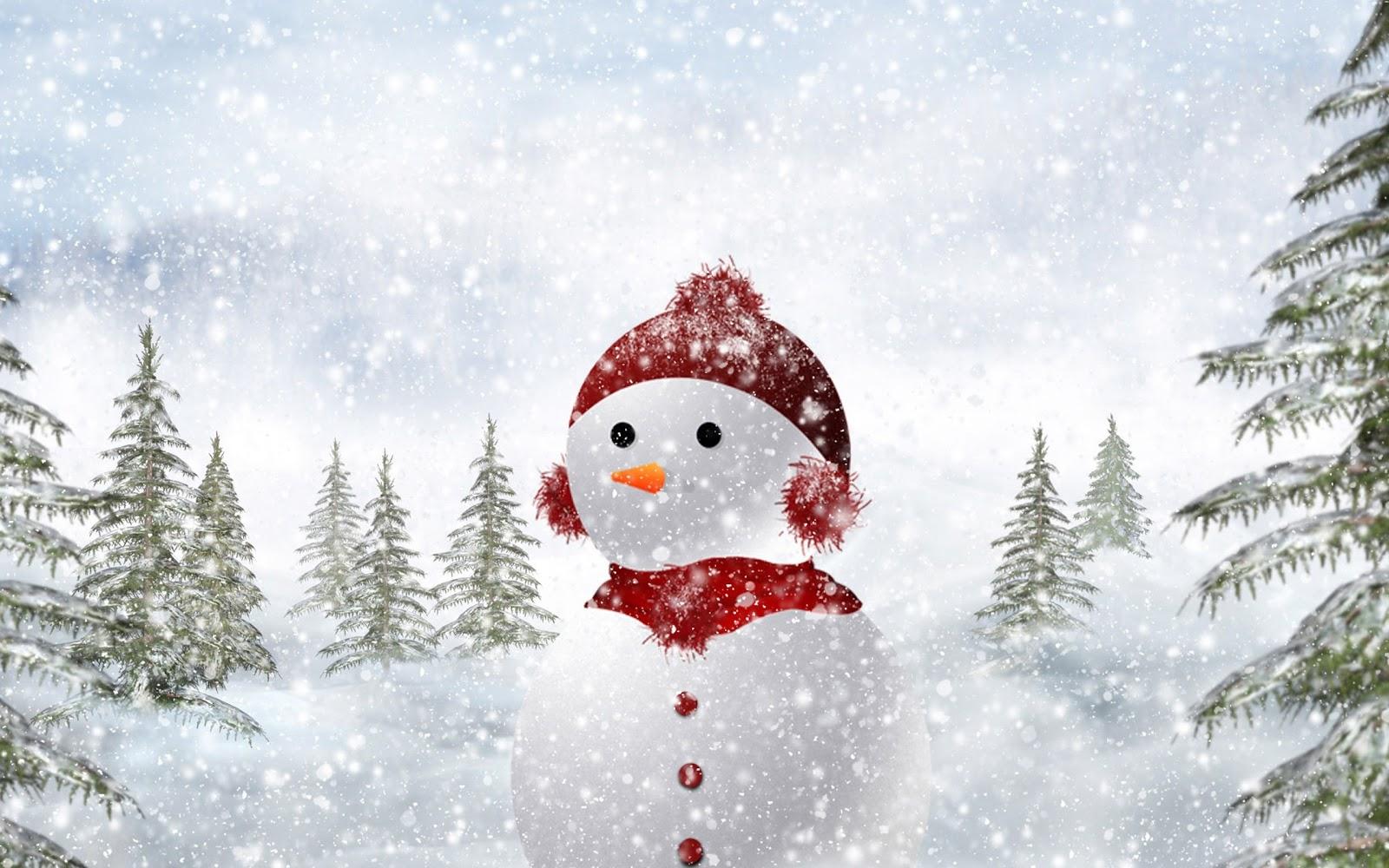 Schneemann Hintergrundbilder - Neues Jahr, Spielzeug Pferd, Cookies HD Hintergrundbilder