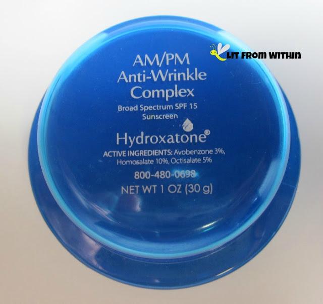 Hydroxatone AM/PM Anti-Wrinkle Complex lovely blue jar