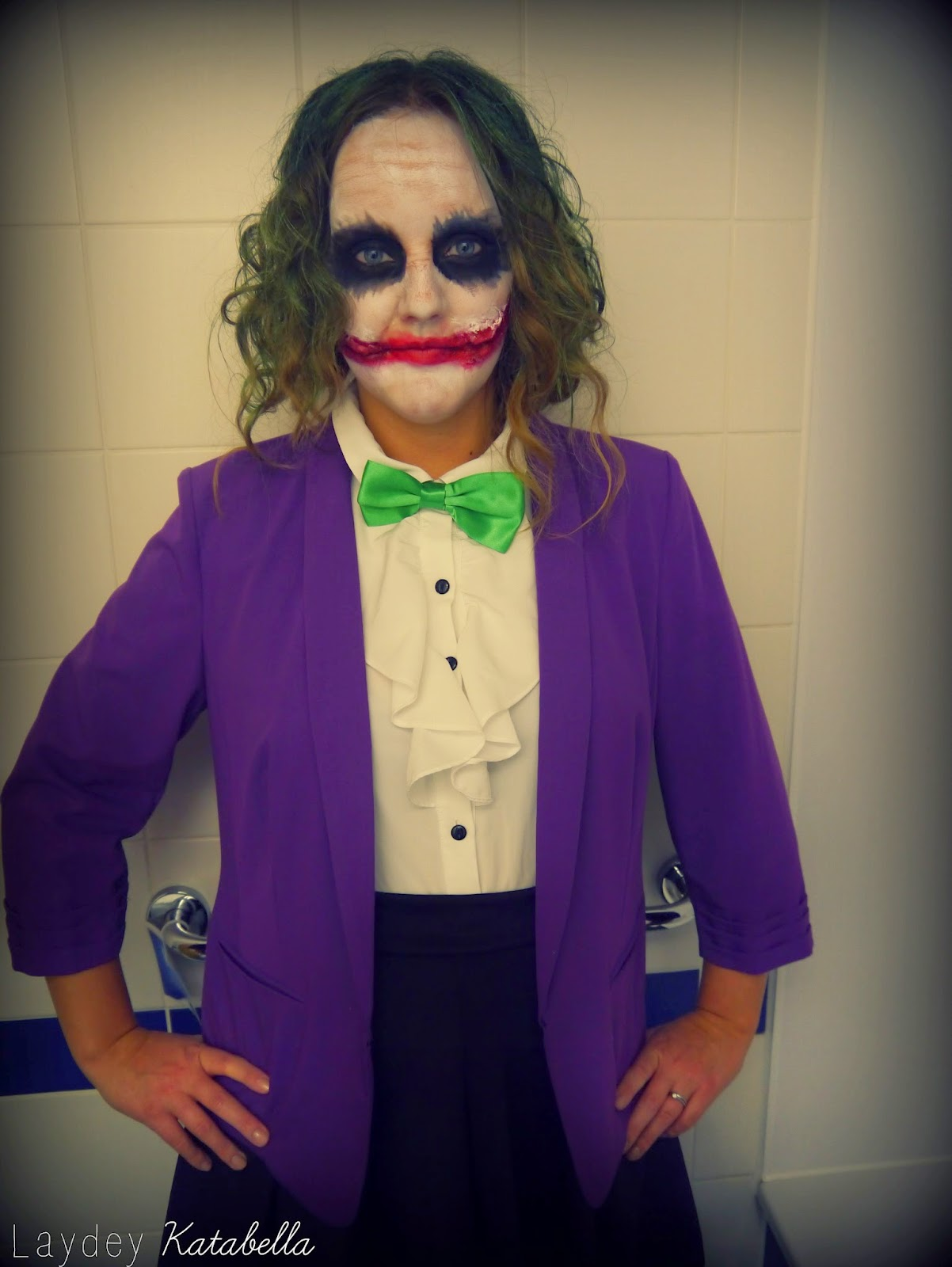 the joker fancy dress costume