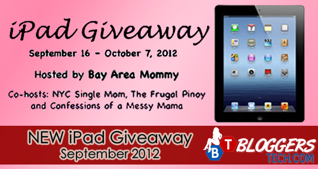 September the NEW iPad Giveaway