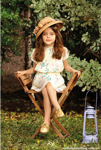 moda verano 2014 vestidos niñas