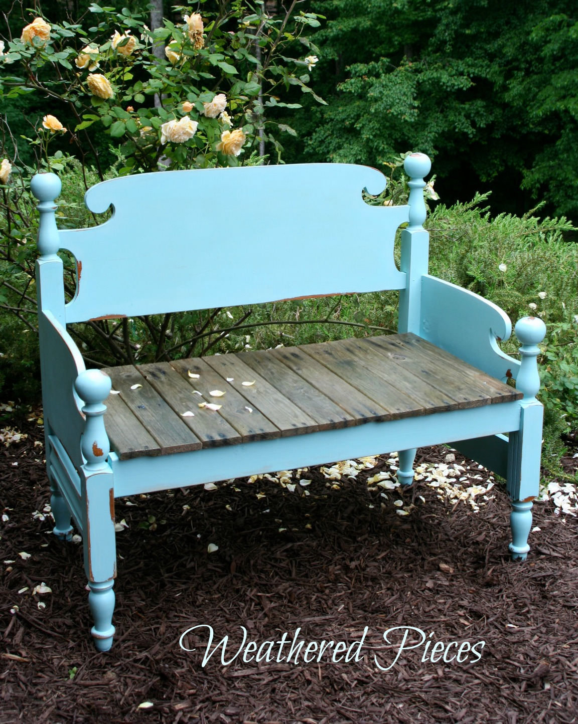 Headboard Bench Plans Transforming Furniture From Bed Frame To Bench American Paint