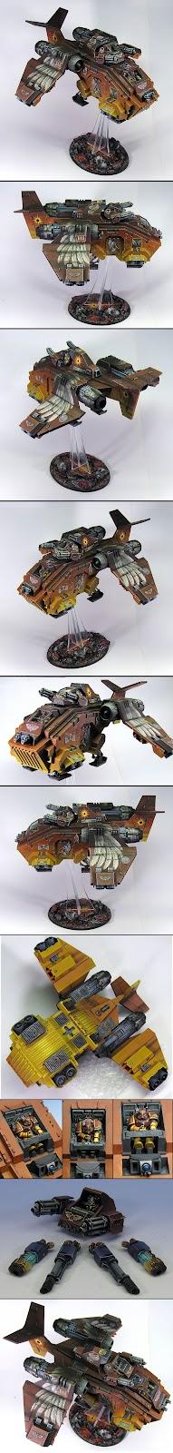 StormRaven de los Angels Solaris de Warhammer 40000