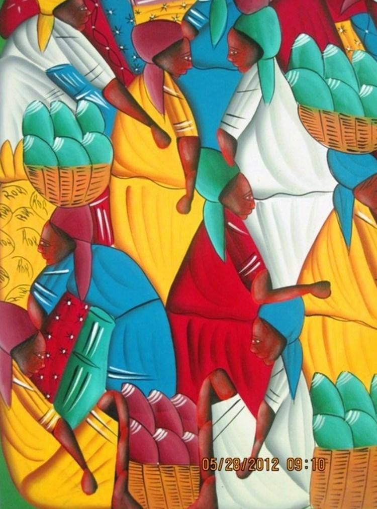 Cuadros Negras Africanas En Oleo Y Acrilico