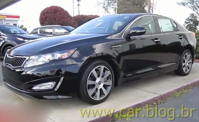 Elegant Kia Optima SX 2.0 Turbo 2012