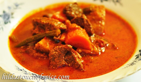 Goan Beef & Vegetable Curry - Hilda's Touch Of Spice