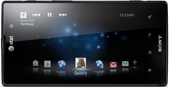 4g lte xperia ion display unbox features