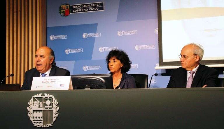 César Gallo, Pilar Urruticoechea y Andreu Puñet