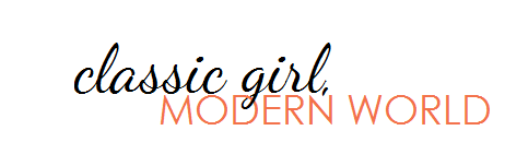 classic girl, modern world
