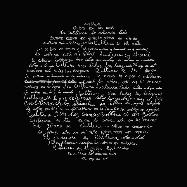 luna llena, caligrama