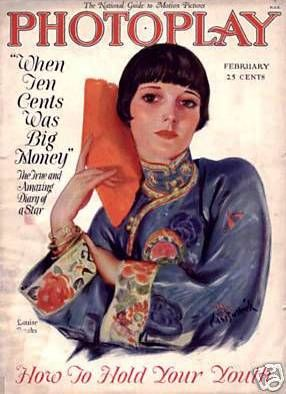louise brooks cover mgazine