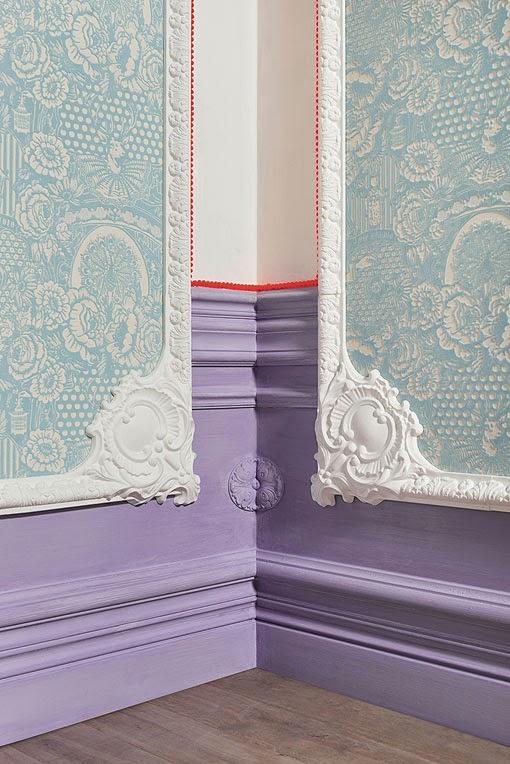 Marzua molduras decorativas para ambientes modernos - Molduras decorativas pared ...