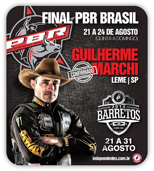 Programa��o da 59� Festa do Pe�o de Barretos 2014 - Final PBR Brasil