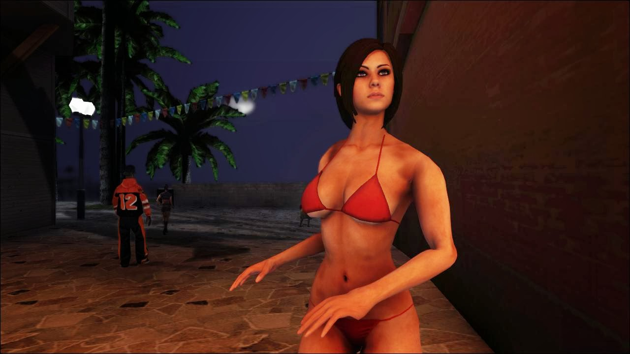 Skin Deadpool Bikini Girls Gta Free Mods