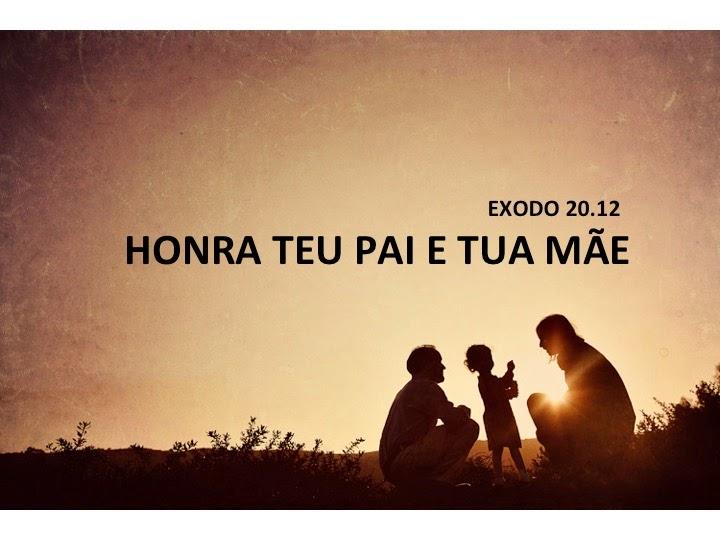 Mensagem Honra Teu Pai E Tua Mãe Pastor Daniel Dutra