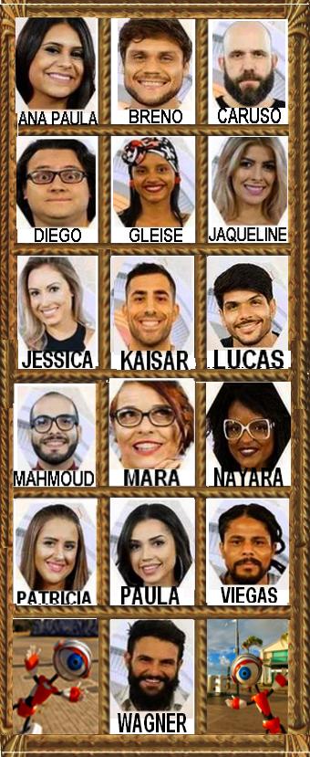 Participantes do BBB18
