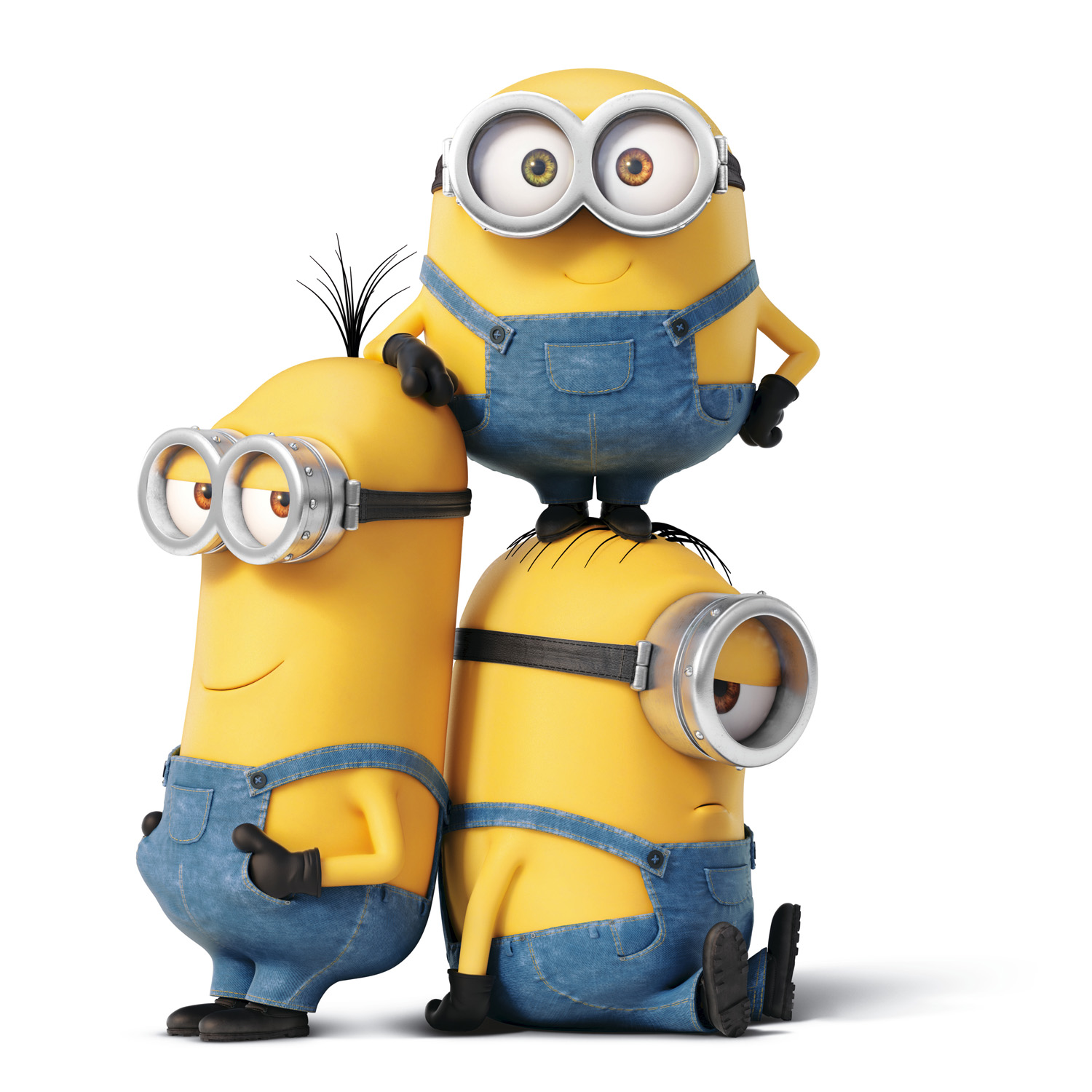 Get To Know The Crazy But Adorable MINIONS   Kevin, Stuart U0026 Bob!