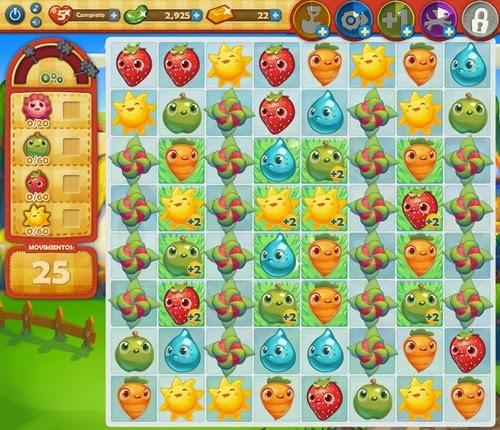Nivel 118 Farm Heroes Saga
