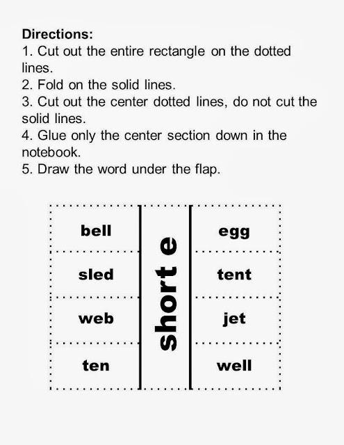 http://www.teacherspayteachers.com/Product/Vowel-Sorting-Short-e-Long-e-Center-Games-and-Interactive-Notebook-Activities-947055