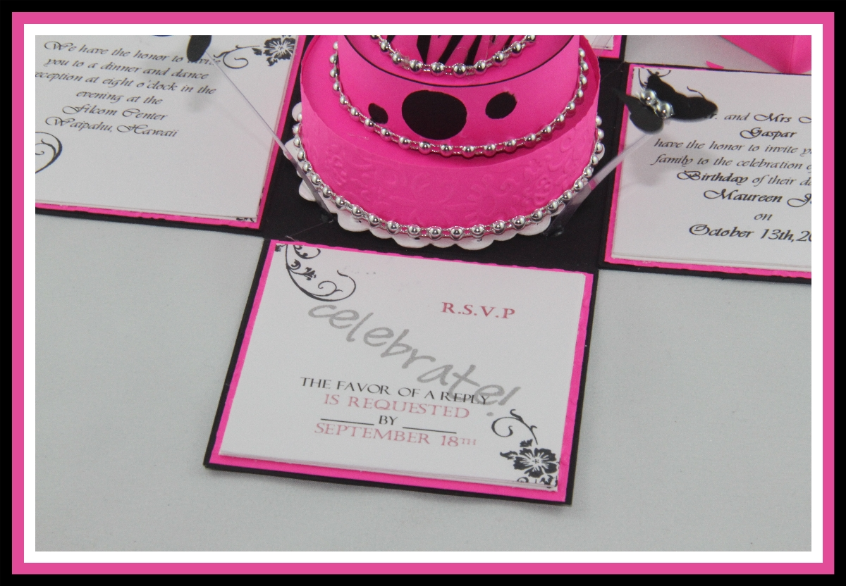 Dorable Debut Party Invitation Pictures Invitation Card