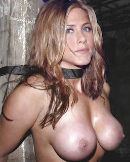 Jennifer Aniston Tits Bondage Tied