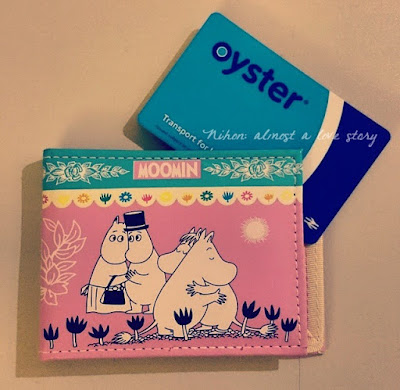 Moomin Oyster card case