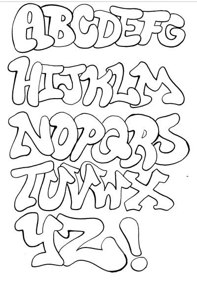 graffiti alphabet fonts. graffiti alphabet tatliaskim 1