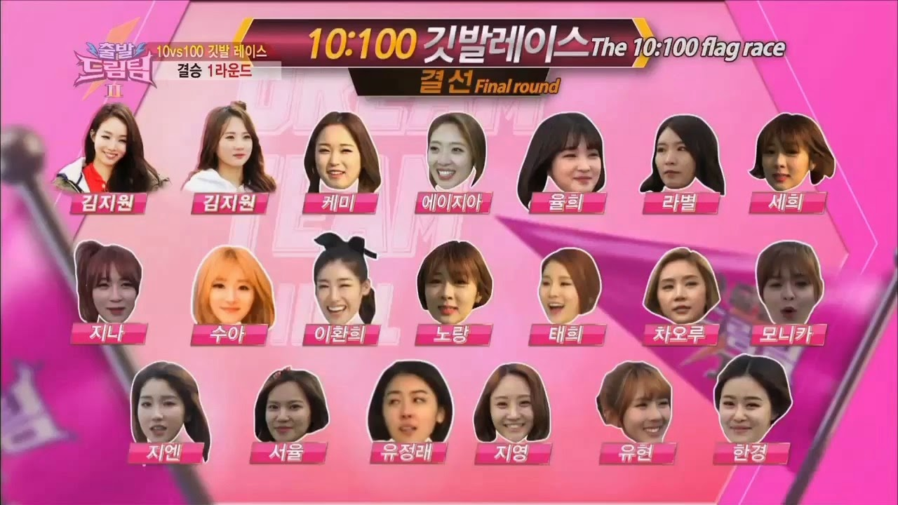 Dream Team II 100 Idols Top 20