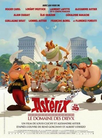 """""""Asterix. La residencia de los dioses"""" (2014) de Louis CLichy y Alexandre Astier."""
